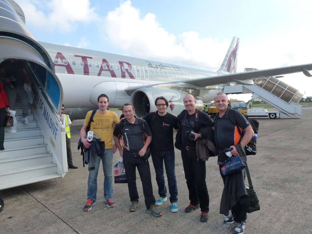 Team Malediven 2014