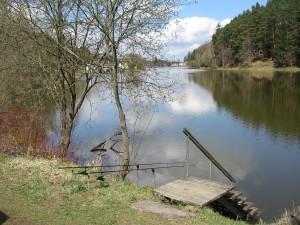 Anfischen April 2012 – Stadtsee Allentsteig